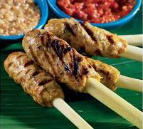 Skewers spicy or mild