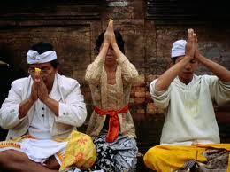 Balinese locals keep their culture alive